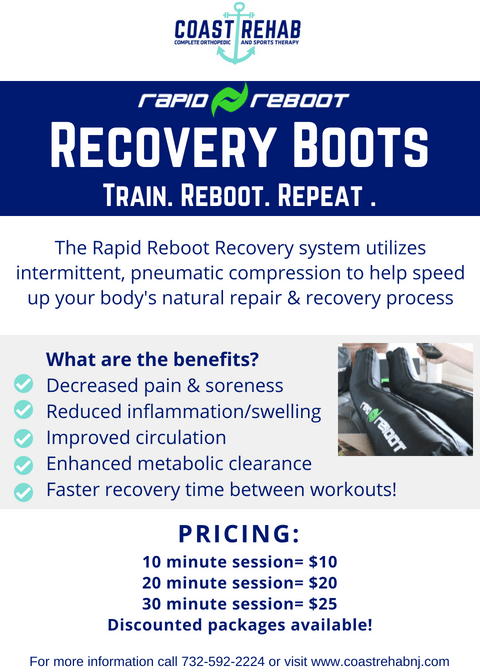 Recovery Boot Flyer Compression Therapy