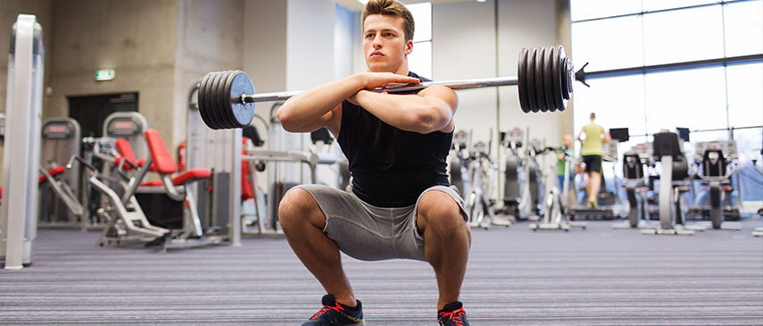 Difference Between Front Squats and Back Squats